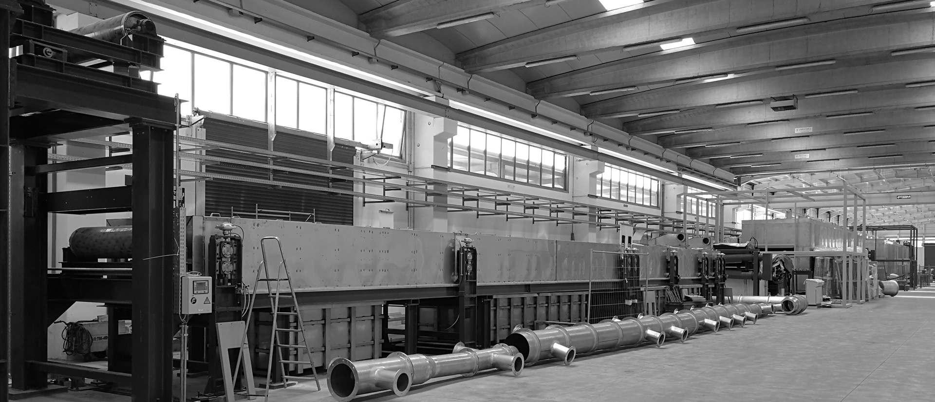 Coating line - Pre-treatment's coating line