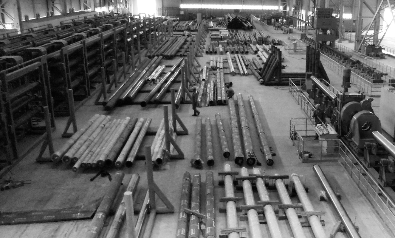 Area tubi - Mandrel work shop