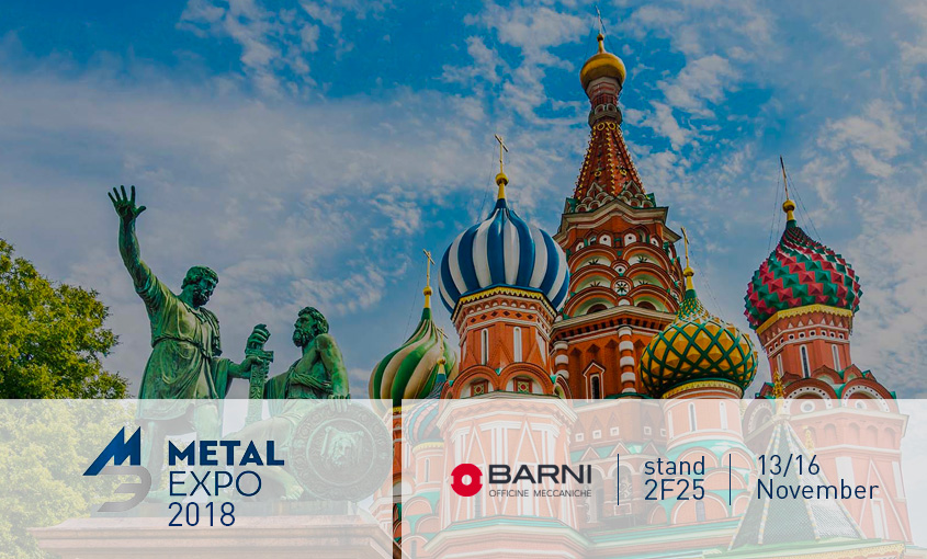 metal expo russia 2018